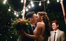 Đám cưới siêu xinh tại khu vườn màu xanh của cặp đôi từng