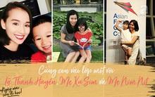 Cùng có con vào lớp 1, nhưng hãy xem cách Lã Thanh Huyền, Mẹ Xu Sim, Mẹ Nim Nít dạy con khác nhau thế nào?