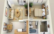 14 mẫu căn hộ một phòng ngủ không thể lý tưởng hơn cho người độc thân và vợ chồng trẻ