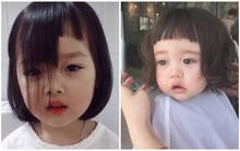 Có những em bé chỉ nhờ… cắt tóc cũng nổi rần rần khắp mạng xã hội