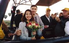 Chàng trai Pháp đưa bạn gái Việt sang Myanmar cầu hôn trên khinh khí cầu lúc bình minh