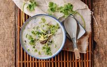 Chỉ 20 phút có ngay món cháo trứng bắc thảo thơm ngon