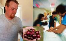 Tò mò ăn thử hạt cherry, người đàn ông suýt trả giá bằng tính mạng do trúng kịch độc