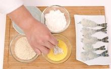 Tôi ước mình biết nguyên tắc 3 cái chén sớm thì món tôm chiên xù tôi làm đã không bị trôi tuột bột khi rán