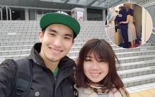 Cô gái Việt và anh chàng đầu tiên gặp tại Nhật đến cái nắm tay
