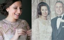 Ai nói đồ cũ là quê mùa? Cô dâu này mặc váy cưới của bà ngoại mà vẫn xinh đẹp lộng lẫy đấy thôi