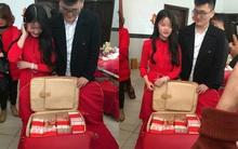 Chưa cưới, nhà trai đã mang tặng cô dâu 18 tuổi vali tiền 11 tỷ đồng