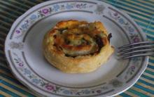 Đơn giản là bánh cuộn rau nấm thôi mà thơm ngon đến bất ngờ!