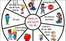 Biểu đồ bánh xe giúp bố mẹ giải quyết mọi tranh chấp của trẻ một cách ôn hòa