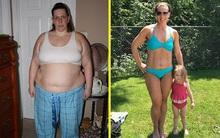 Từ chỗ không thể cài nổi giày vì quá béo, người phụ nữ này đã giảm gần 100kg mà không đến phòng tập