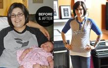 Bí quyết giảm gần 60kg trong 2 năm không cần ăn kiêng của bà mẹ 3 con