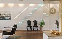 Cầu thang không tay vịn - kiểu cầu thang đẹp