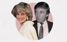 Có ai ngờ, Công nương Diana từng khiến Tổng thống Mỹ Donald Trump ngày nhớ đêm mong, tặng triệu đóa hồng