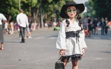 Vietnam International Fashion Week: Mới ngày đầu mà các nhóc tì đã đổ bộ xuống phố với street style