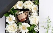 Tự làm hộp quà hoa 2 trong 1 siêu cute cực đơn giản