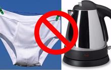 Đây có thể là lý do có chết bạn cũng đừng dại mà dùng ấm đun nước siêu tốc tại khách sạn