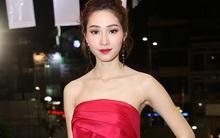 Hoa hậu Thu Thảo diện đầm đỏ khoe vai trần nổi bật trên thảm đỏ Wechoice Awards