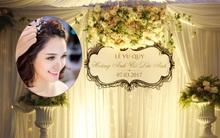 Hé lộ những hình ảnh đầu tiên về đám cưới giản dị của Á hậu Hoàng Anh