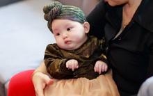Con gái nhỏ đáng yêu của Hồng Quế lần đầu xuất hiện trước công chúng