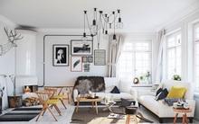 """Scandinavian đích thị là phong cách mà bạn đang tìm kiếm """"mòn mỏi"""" cho không gian phòng khách"""