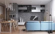 """Hai căn hộ diện tích nhỏ dưới 50m² cho vợ chồng trẻ khiến người xem phải """"ghen tị"""""""