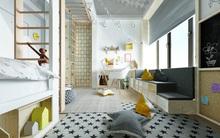 10 mẫu phòng ngủ cho bé đầy màu sắc và không gian vui chơi