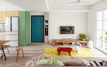 Căn hộ 25m² với cách bố trí nội thất đẹp không có chỗ chê của chàng độc thân