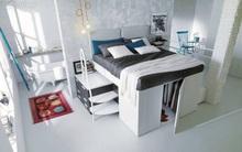 Thiết kế giường thông minh tích hợp tủ quần áo phù hợp cho mọi phòng ngủ nhỏ