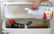 Bồn cầu luôn sạch sẽ, sáng bóng với 4 bước vệ sinh vô cùng đơn giản
