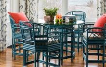Đã đến lúc bạn nhận ra những bộ bàn ăn mây tre đan đang là lựa chọn của rất nhiều gia đình