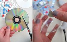 Bạn sẽ chẳng nỡ ném chiếc CD vào thùng rác nếu biết được những ý tưởng sáng tạo tuyệt vời dưới đây