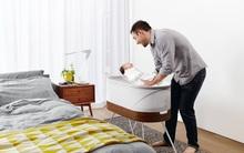 Có chiếc giường cũi SNOO, bố mẹ chẳng cần ru con vẫn ngủ ngon lành