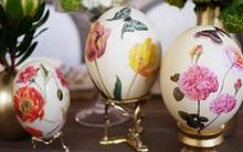 15 cách biến những quả trứng đơn điệu thành món đồ trang trí nhà đầy màu sắc