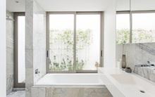 5 cách làm nhà tắm đẹp lên tức khắc nhờ đá cẩm thạch