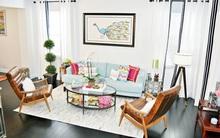 Gợi ý 20 kiểu ghế da màu nâu trang trí phòng khách không bao giờ lỗi mốt