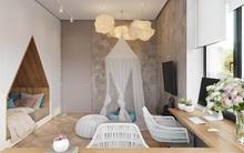 Những mẫu phòng ngủ đẹp mê ly như thế giới thần kỳ dành cho trẻ nhỏ