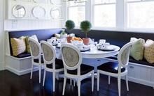 Chỉ cần sắp xếp ghế banquette theo cách này là sẽ có không gian sống tiết kiệm diện tích