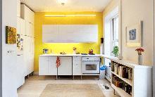 Những phòng bếp làm bừng sáng không gian sống gia đình