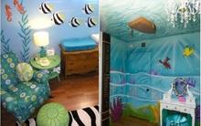10 gợi ý tuyệt vời trang trí phòng bé lấy cảm hứng từ đại dương