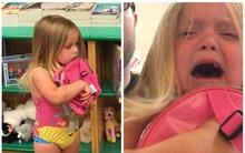 Con gái đòi mua cặp sách Peppa Pig, ông bố đã từ chối thẳng thừng và