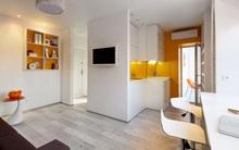 Căn hộ 22m² trang trí theo phong cách tối giản và đầy đủ chức năng cho vợ chồng trẻ
