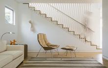 Không gian sống của gia đình thêm đẹp với mẫu cầu thang dây vô cùng độc đáo