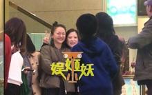 Châu Tấn bất ngờ vui vẻ thân mật bên con gái tình địch cũ