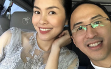 Ông xã Tăng Thanh Hà dành món quà ngọt ngào cho vợ kỉ niệm 5 năm ngày cưới