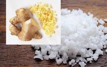 Sự thật về muối gừng giúp giảm mỡ bụng