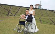 Cái kết đẹp từ chuyện tình nhiều sóng gió giữa chàng trai bị cụt một chân với cô gái