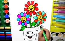 Bảo con vẽ lọ hoa, nhưng khi nhận lại tác phẩm ông bố nhận ra tài năng đặc biệt của con mình