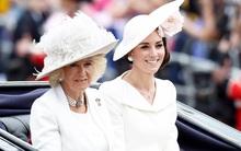 Mối quan hệ mẹ chồng nàng dâu đầy bão táp của Công  nương Kate và bà Camilla