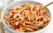 Bữa sáng cuối tuần hoàn hảo với mỳ Ý hải sản