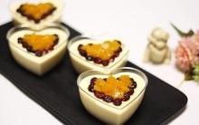 Mềm mịn ngọt thơm món mousse đào